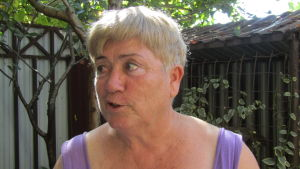 Ljudmila Zjukovskaja är glad över sitt nya hem.