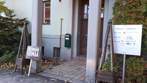 JHL:s utrymmen finns i det här huset i Karleby