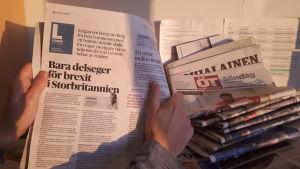 Henrik Othmans sista ledare i Österbottens Tidning
