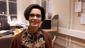 Maria Aho, enhetschef för vuxen socialarbete i Jakobstad