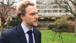 Thomas Cole är aktiv inom People's vote-kampanjen