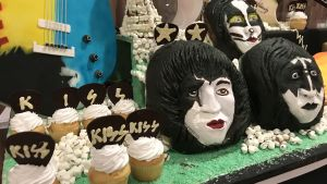 Kiss cupcakes på Kiss Kruise VIII 2018.
