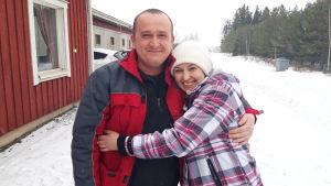 Julia Bashynska och Slavik Omelchenko