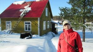 Tatjana Visser bor i ett hus som byggdes av finländare 1936.