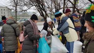 Insamlingen av sorterade sopor lockar många