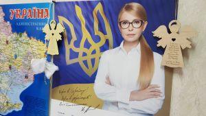 Julija Tymosjenko är en av de mest erfarna spelarna i Ukraina