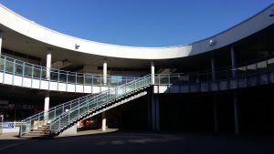 Puhos gamla köpcentrum i Östra centrum i Helsingfors.