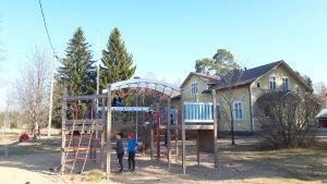 Påras skola i Kronoby.