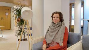 Karin Kastén från Folkhälsan