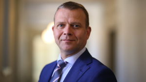 Petteri Orpo i riksdagen.