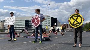Yoga på Hagnäsbro 29.7.19