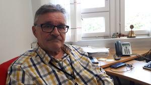 Miljöhälsoinspektör Leif Karlström