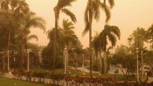 Sandstorm på Teneriffa