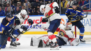 Florida Panthers mot St. Louis Blues.