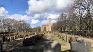 Nya kapellet vid Sandudds begravningsplats