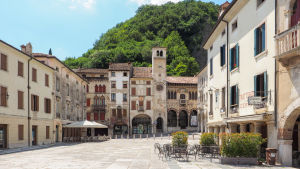 Vittorio Veneton keskustan aukio