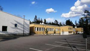 Merituulen koulu i Ingå.