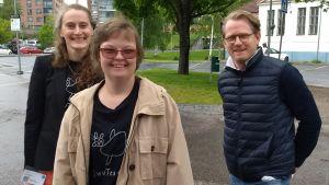 Mikaela Hasán, Karolina Karanen och Joachim Thibblin får motta Antonia-priset 2020