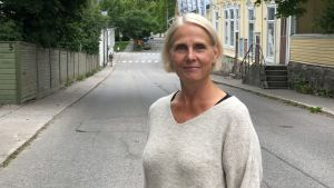 Porträttbild på Carina Nyman.