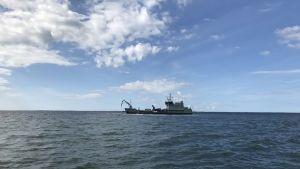 Marinens fartyg Hylje deltog i operationen.