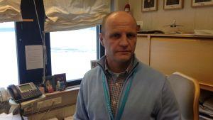 Åbo flygplatschef Juha Aaltonen.