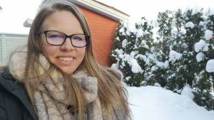 Jaanica Haapaniemi säger att även om hon på sätt och vis är hemma i Finland så känner hon sig ändå som en utlänning