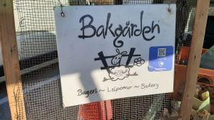 Bakgården är ett mikrobageri i Sjundeå, Västnyland.