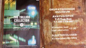 Tomas Alexanderssons projekt The Tallinn Collector utställning på Ockupationsmuseet i Tallinn sommaren 2015