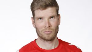 Tuomas Aho i HIFK-tröja.