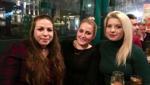 Sandra, Ivana och Megi