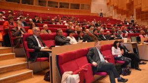 Seminarium inför kommunfusionsförhandlingarna mellan Vasa och Korsholm.