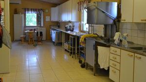 Köket på Dansholmen i Tolkis