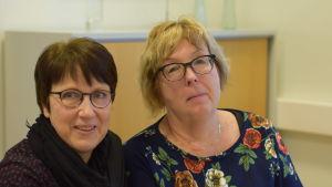 Anette Grund_Korhonen och Asta Saarenpää