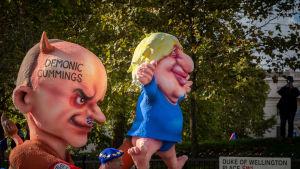 Antibrexit-demonstration i London i oktober 2019