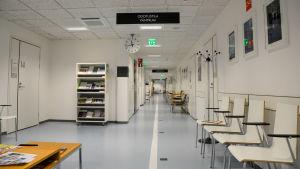 Mårtensdals hälscoentral är stängd på grund av coronavirussmitta.