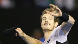 Andy Murray, australiska öppna 2016.