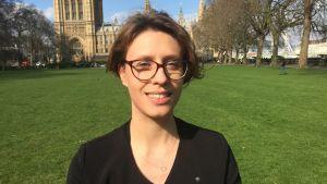 Forskaren Agata Gostynska-Jakubowska vid tankesmedjan Centre for Europen Reform i London