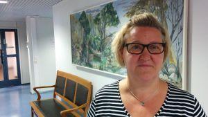 Profilbild på infektionsläkare Jane Marttila.