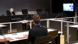 Rättegången mot de terrormisstänkta i Egentliga Finlands tingsrätt.