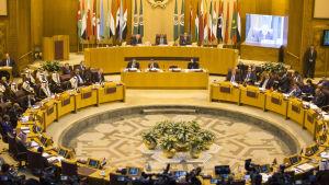 Arabförbundets nödmöte om USA:s beslut att flytta sin ambassad i Israel till Jerusalem.