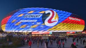Fotbollsstadion i Munchen.