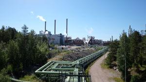 Sköldviks nya kraftverk.