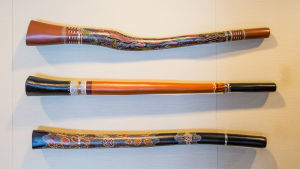 Blåsinstrument didgeridoo