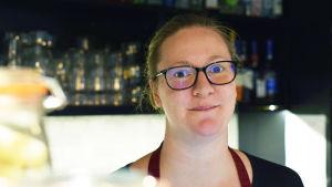 Närbild på företagaren Petra Mannström.