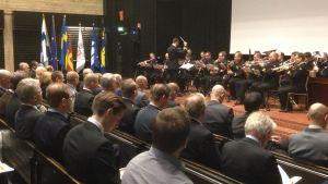 Finlandssvensk försvarsdag i Säkylä.