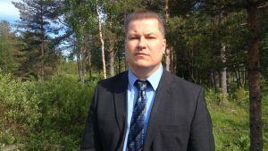 Kommundirektör i Pyhäjoki, Matti Soronen.