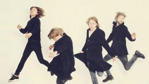 pressbild av rockbandet mew 2015