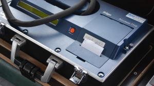 En apparat för blåstest som ger mycket noggranna resultat på sjöbevakningens fartyg.