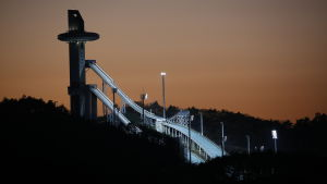 OS-hoppbackarna i PyeongChang.