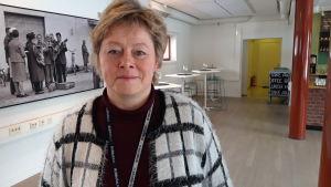 Stadsdirektör Stina Mattila i Karleby.